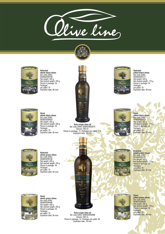 Olive Line Catalogue 2